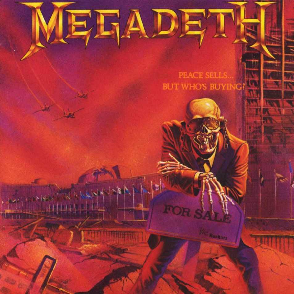 Megadeth relançará seu segundo disco