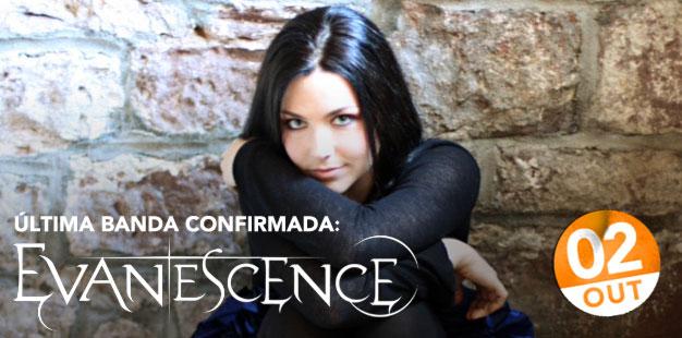 Rock in Rio confirma última banda: Evanescence