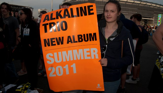 Alkaline Trio lança novo disco no meio do ano