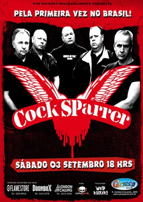 Cock Sparrem vem ao Brasil em Setembro