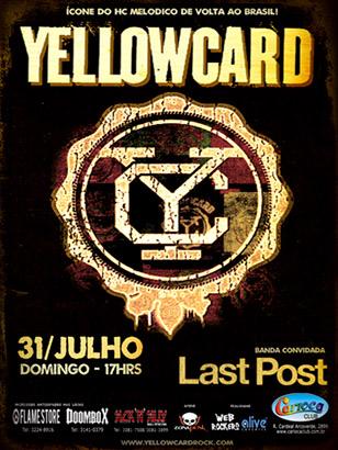 Yellowcard em São Paulo