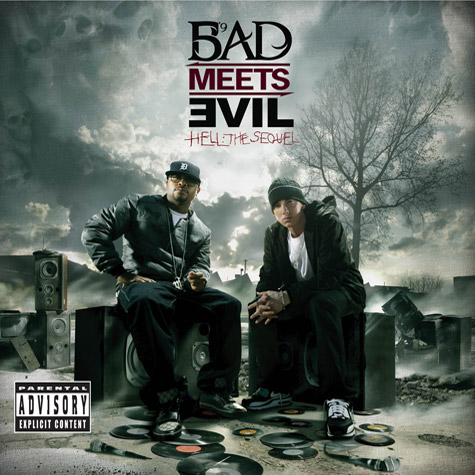 Bad Meets Evil - Hell The Sequel - 2011 - album cover