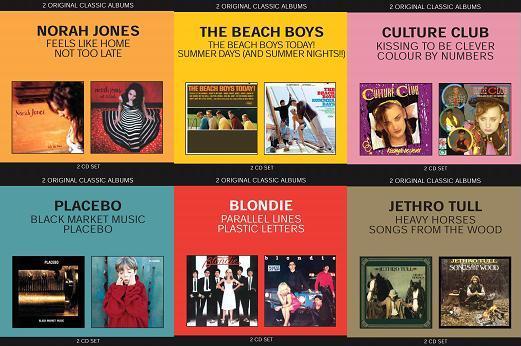 EMI lança coleção Classics Albums