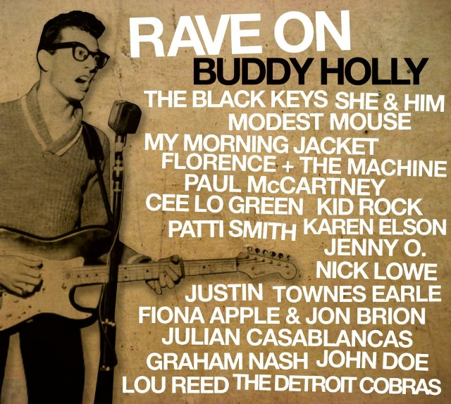 Rave On Buddy Holly - 2011 - album cover
