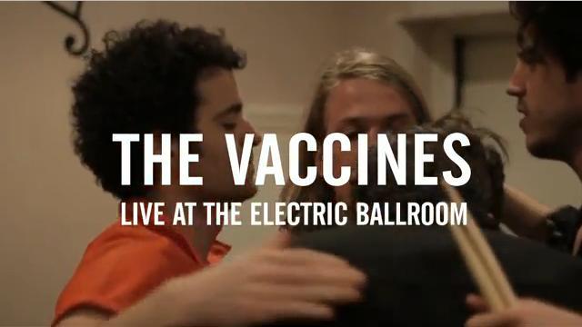 The Vaccines lança clipe ao vivo