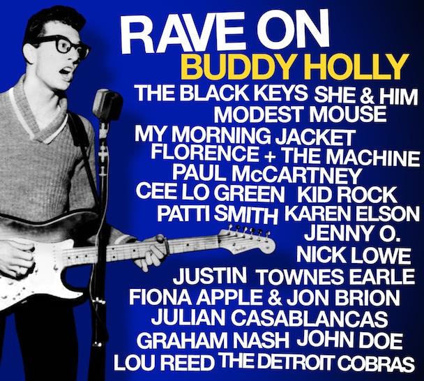 Promoção valendo tributo a Buddy Holly