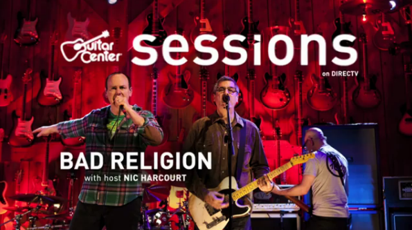 Bad Religion no Guitar Center Sessions