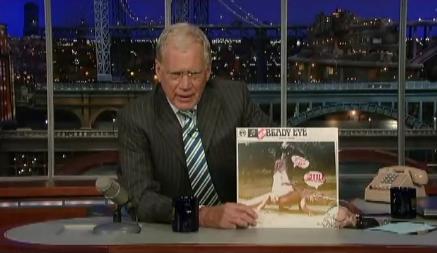 Beady Eye no programa de David Letterman