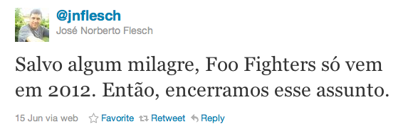 Jornalista diz que FF só em 2012