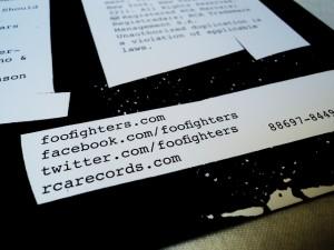 Foo Fighters - Wasting Light em vinil