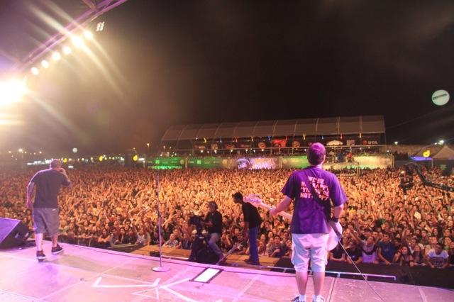 Mais de 25 mil pessoas no João Rock