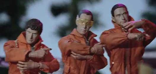 Beastie Boys em seu novo clipe