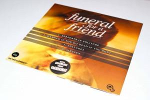 Promoção do Funeral For A Friend