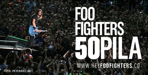 Foo Fighters, 50 pila