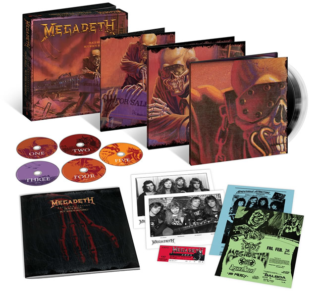 Megadeth - Peace Sells... But Who's Buying? - Set dos 25 anos do disco
