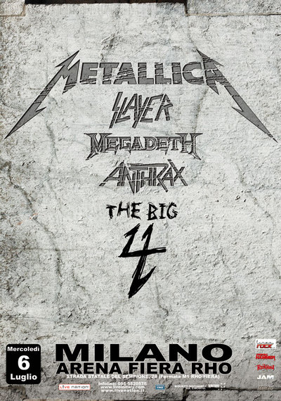 Poster Big 4 em Milão