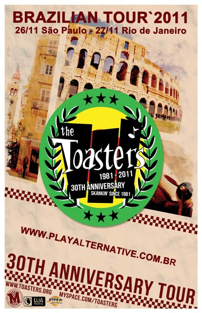 The Toasters Vem Ao Brasil Com Turnê Comemorativa