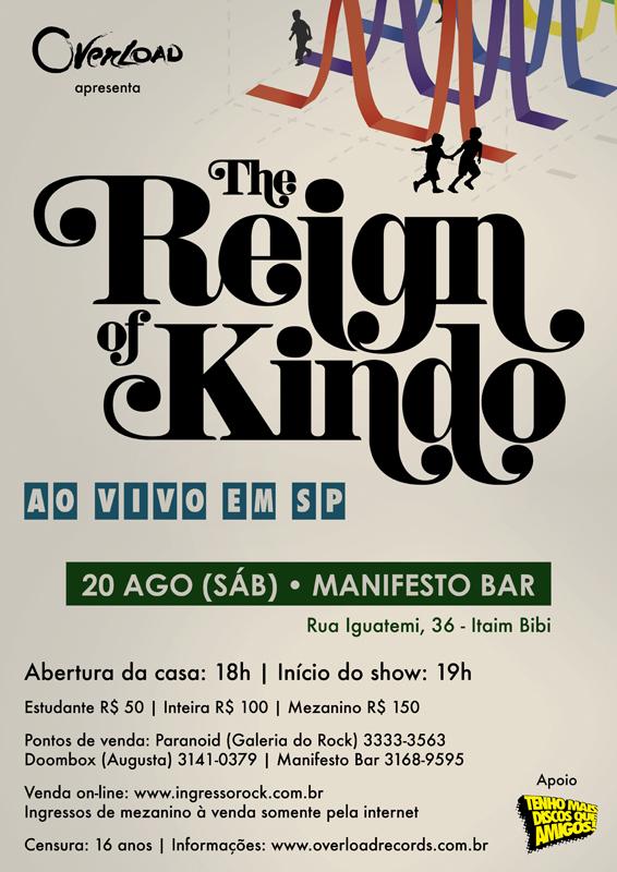 The Reign Of Kindo em São Paulo