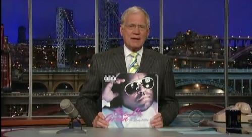 Cee Lo Green no programa de David Letterman