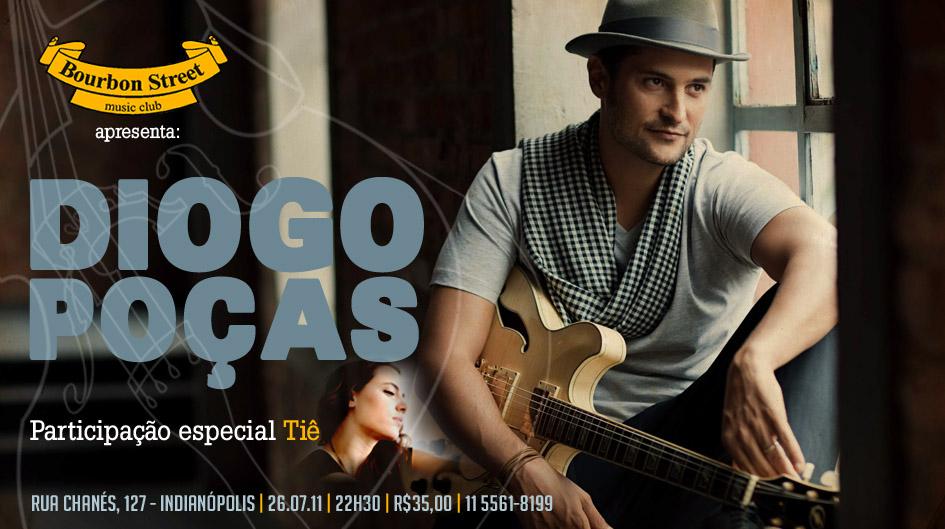 Diogo Poças toca em São Paulo