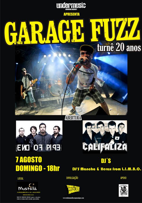 Garage Fuzz em Florianópolis