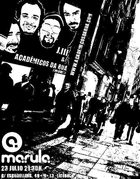 JIII & Acadêmicos da Rua lançam EP em Barcelona