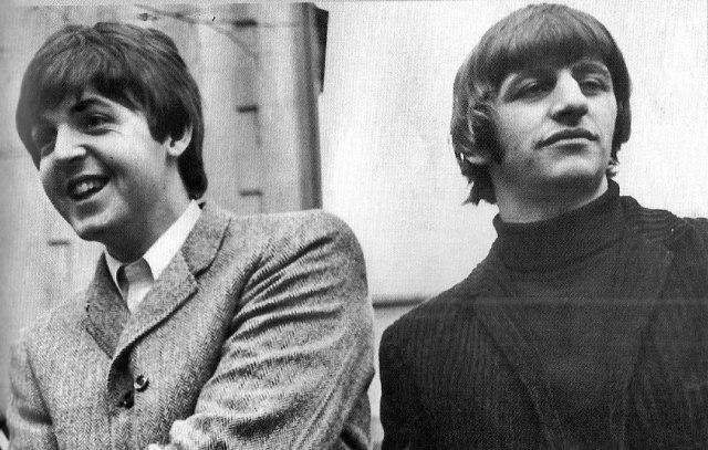 Paul McCartney faz homenagem ao aniversário de Ringo Starr