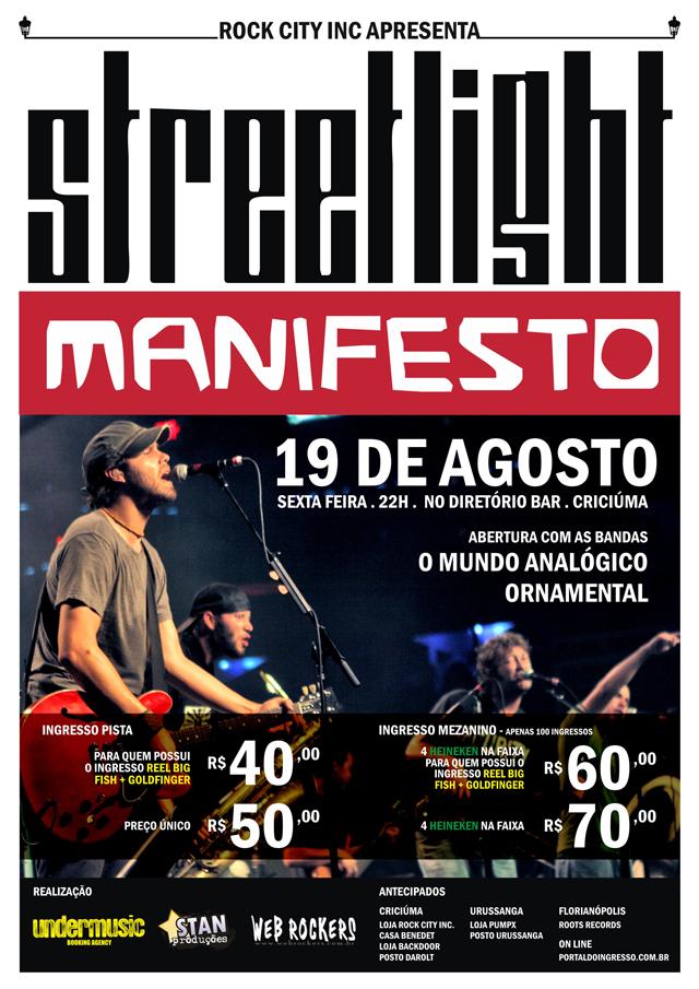 Streetlight Manifesto em Criciúma
