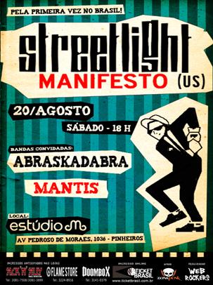 Streetlight Manifesto em São Paulo