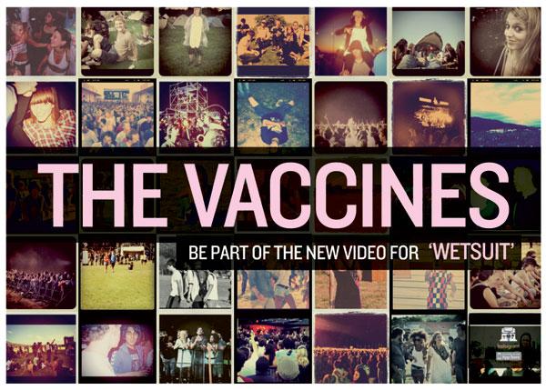 Participe do novo videoclipe do The Vaccines