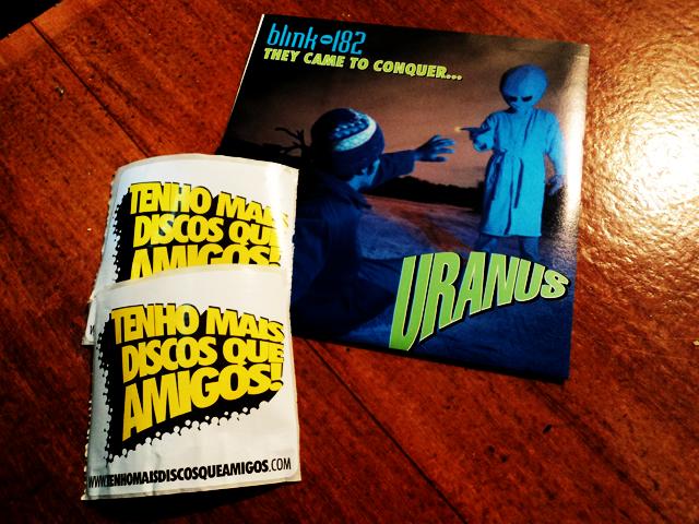 Promoção: Blink-182 - They Came To Conquer Uranus