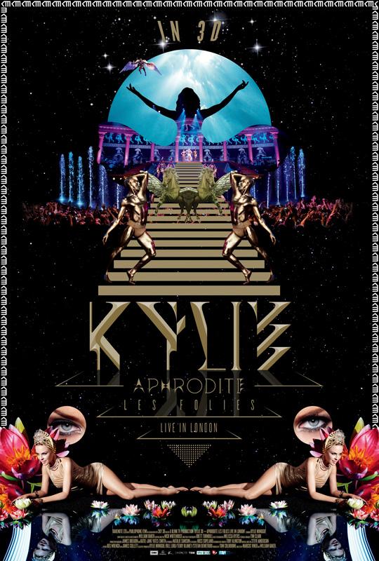 Aphrodite Les Folies Live in London_Kylie Minogue_Poster
