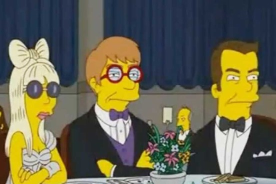 Lady Gaga nos Simpsons