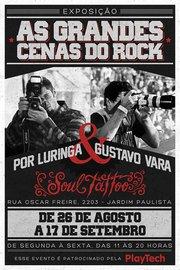 Exposição: As grandes Cenas do Rock