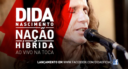 Dida Nascimento lança disco no Facebook