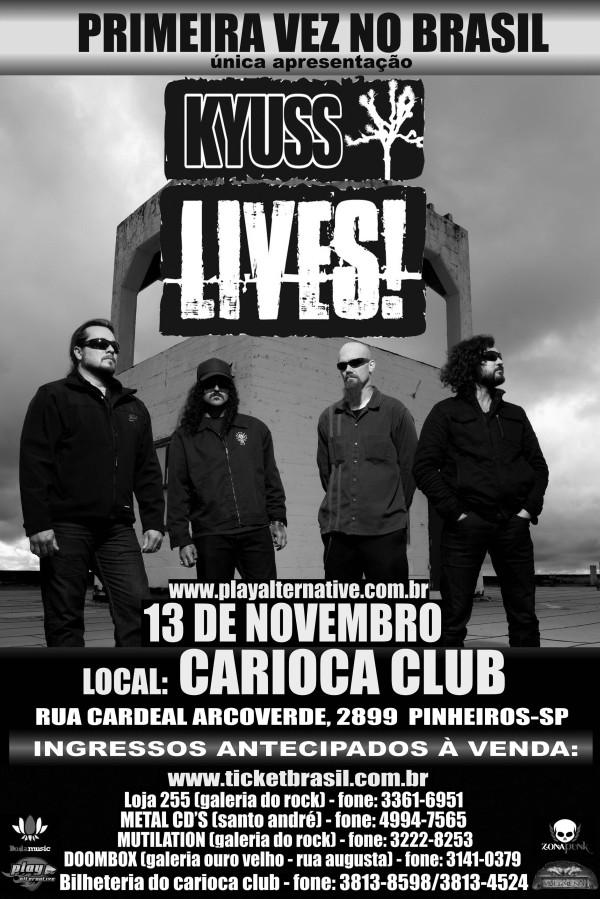 Kyuss Lives! no Brasil