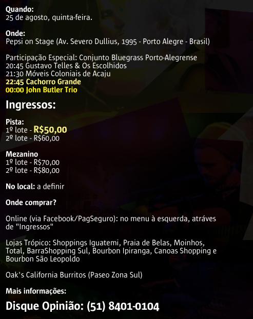 Serviço Festival Açaí Musical