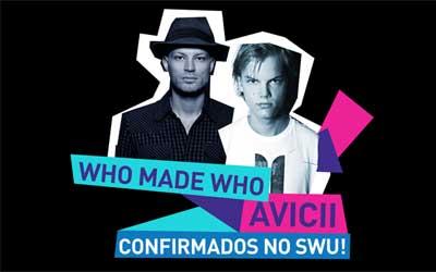 WhoMadeWho e Avicii integram lineup