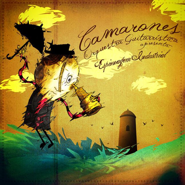 Camarones Orquestra Guitarrística - Espionagem Industrial