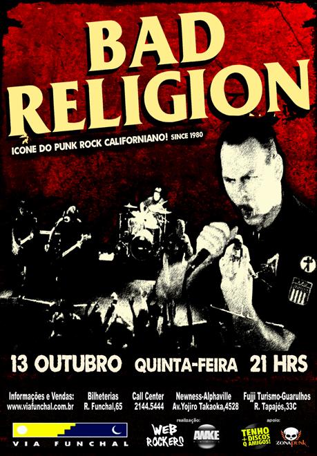 Bad Religion em São Paulo