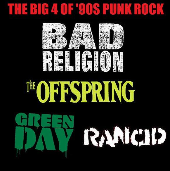 Big 4 do Punk Rock