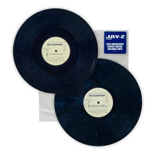 Jay-Z relança álbum clássico em vinil azul