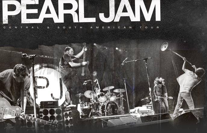 Pearl Jam no Brasil