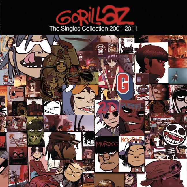 Gorillaz - The Singles Collection 2001 - 2011