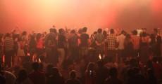 Público chegou junto no show do Guillemots no Coquetel Molotov 2011