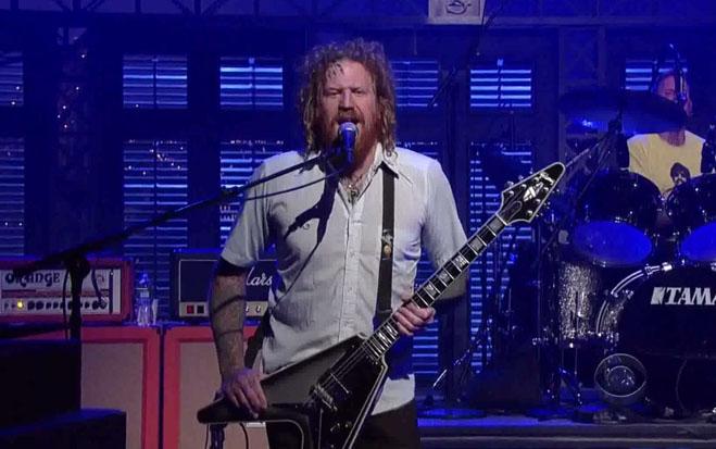 Mastodon toca no David Letterman