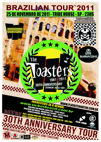 The Toasters em SP