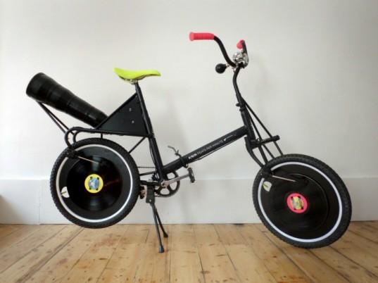 Bike com toca discos