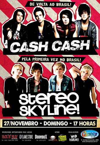 Cash Cash e Stereo Skyline