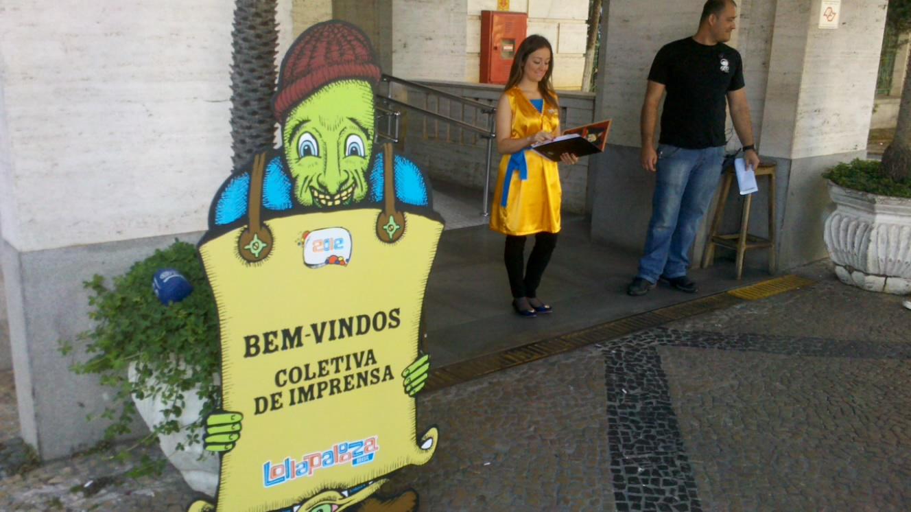 Coletiva de imprensa - Lollapalooza Brasil